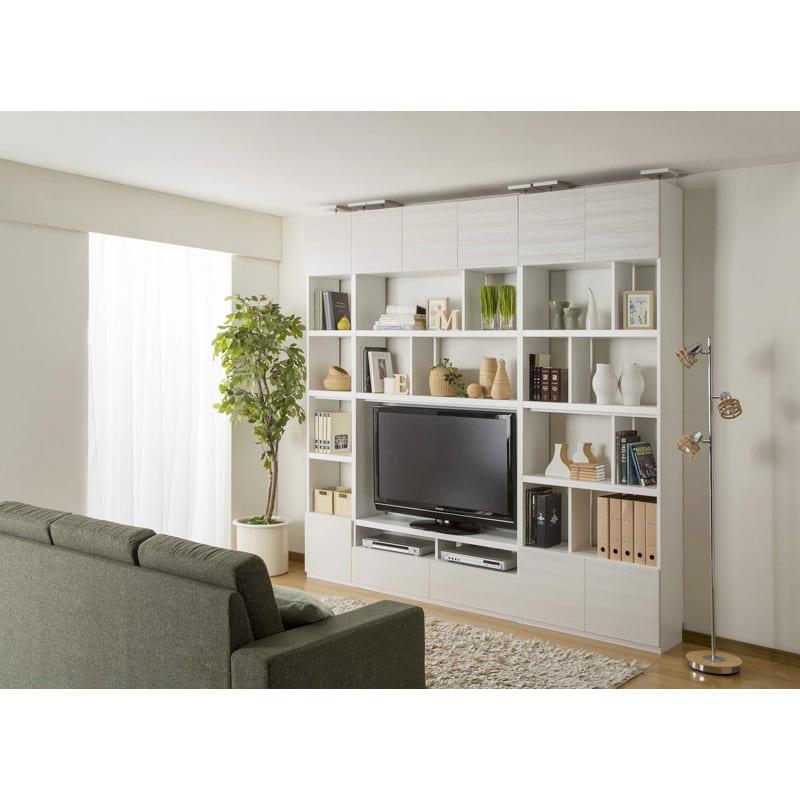 壁面テレビボード リビュアル LVA-2412TV WH