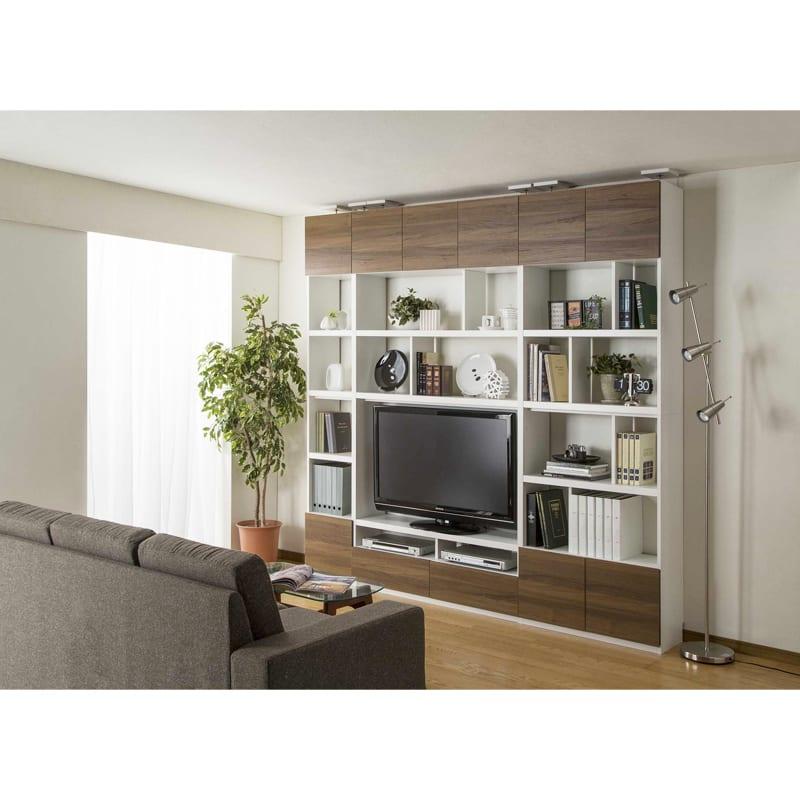 壁面キャビネット リビュアル LVA-2480D DK