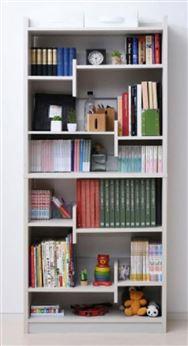 本を仕切れる書棚 CFP−1880 ジョイホワイト