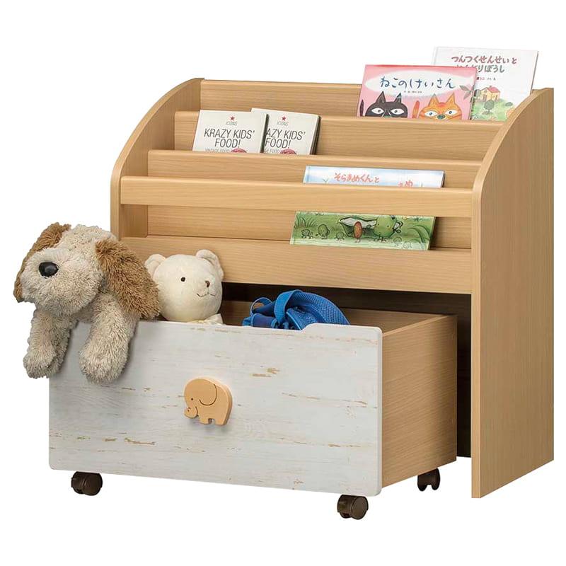 おもちゃ絵本ラック ランドキッズ LAK−7075BS