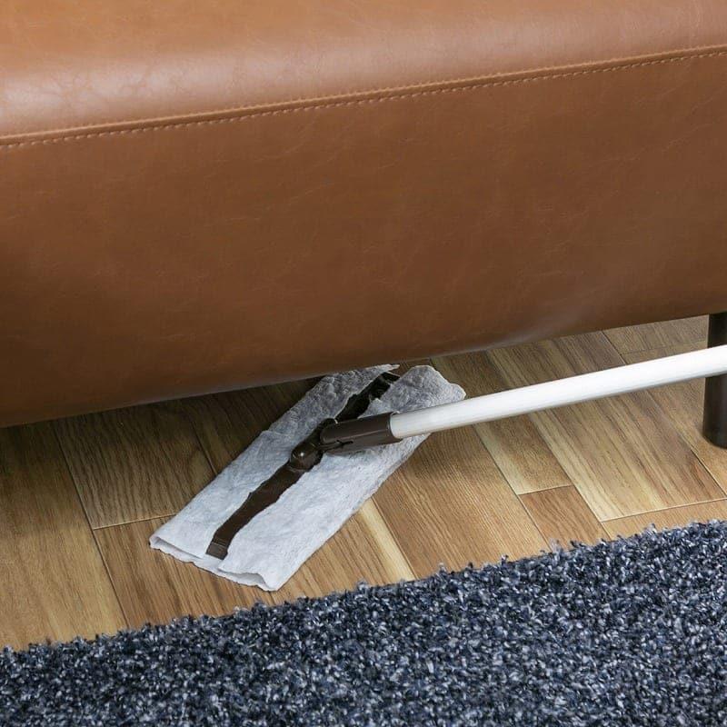 LDソファーセット モーゼス�U DBR:お掃除しやすい高さ
