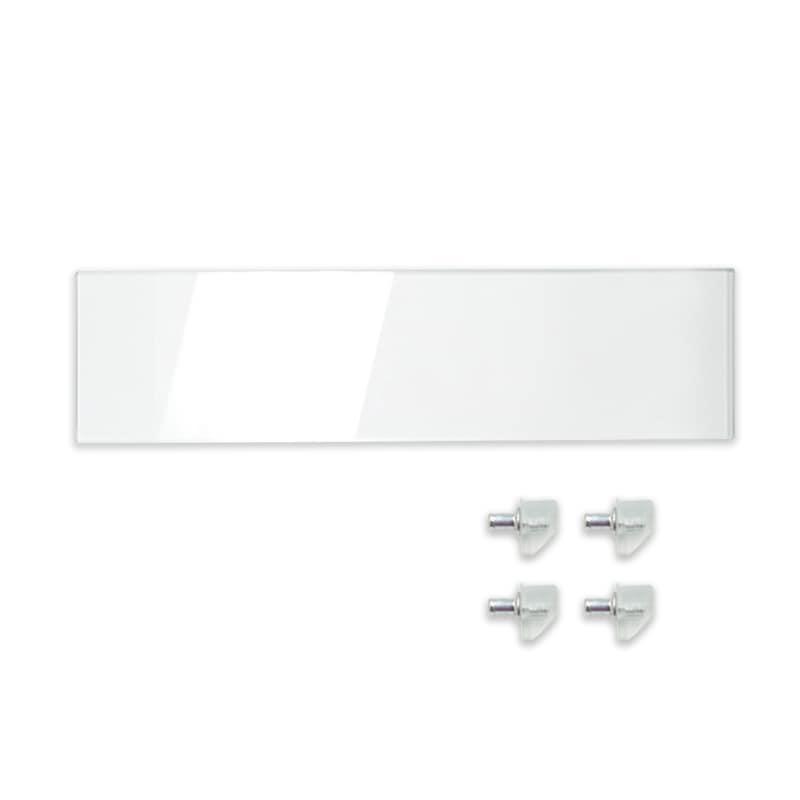 追加棚ガラス スカーラT用ダボ付