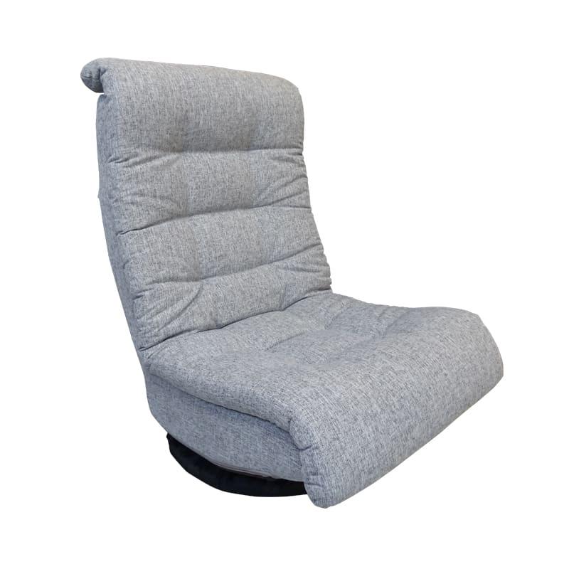 座椅子 バルド(GRY):◆座り心地を徹底追及したこだわりのコイル座椅子です。