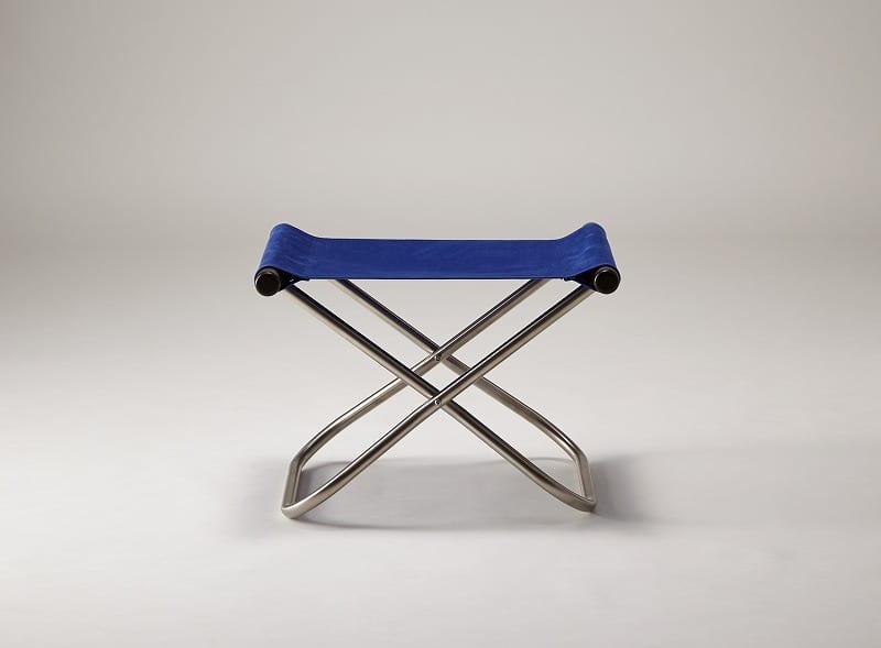 ニーチェアX オットマン DB/BL:《畳一畳のスペースで、身体を支えて包み込む「ニーチェア」》