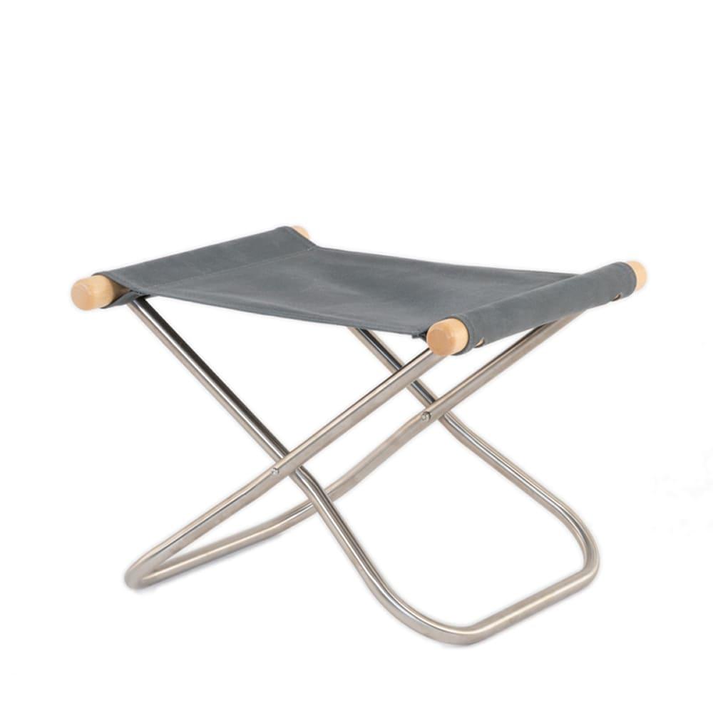 ニーチェアX オットマン NA GY NY−145:《畳一畳のスペースで、身体を支えて包み込む「ニーチェア」》