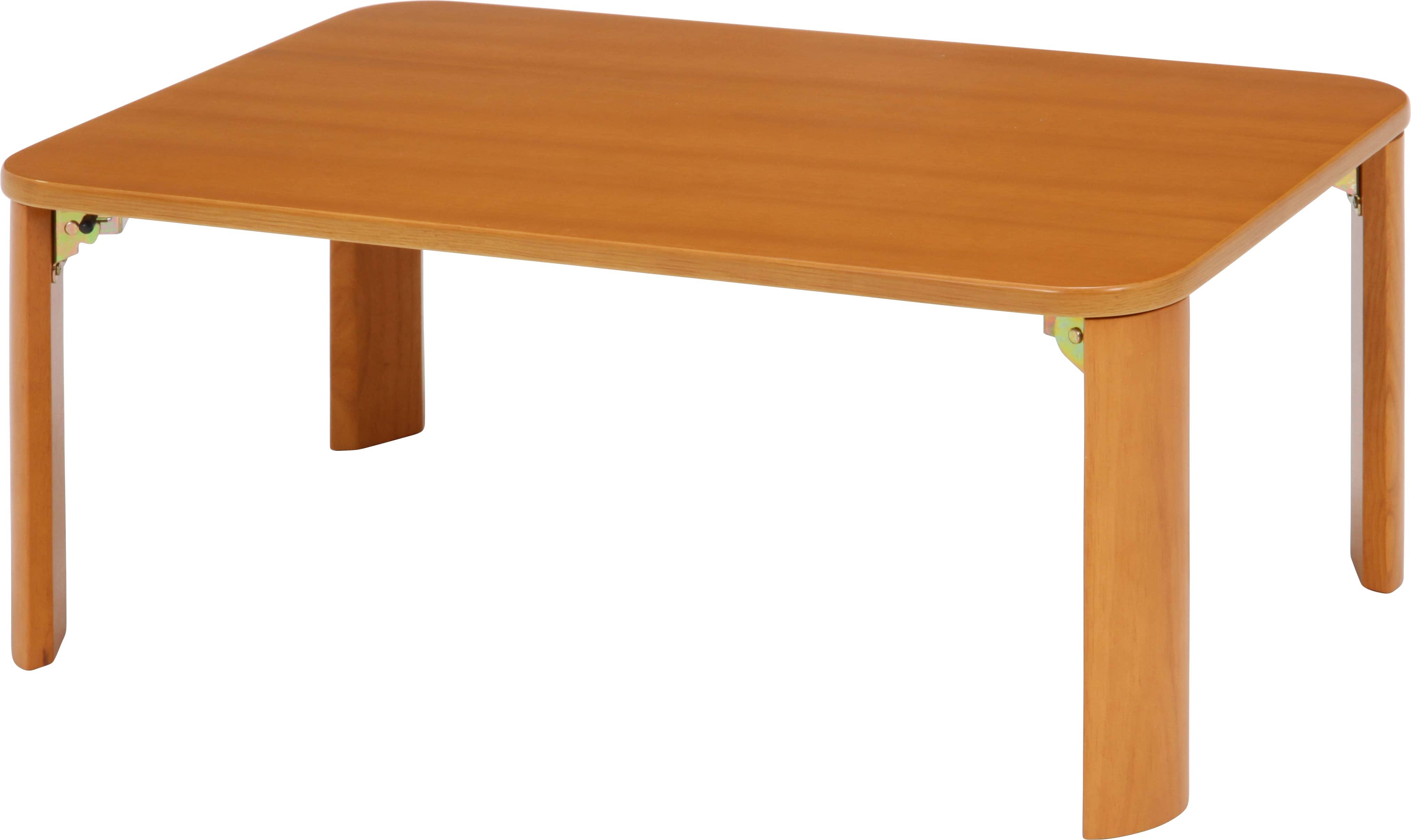 折脚ローテーブル7550NAナチュラル