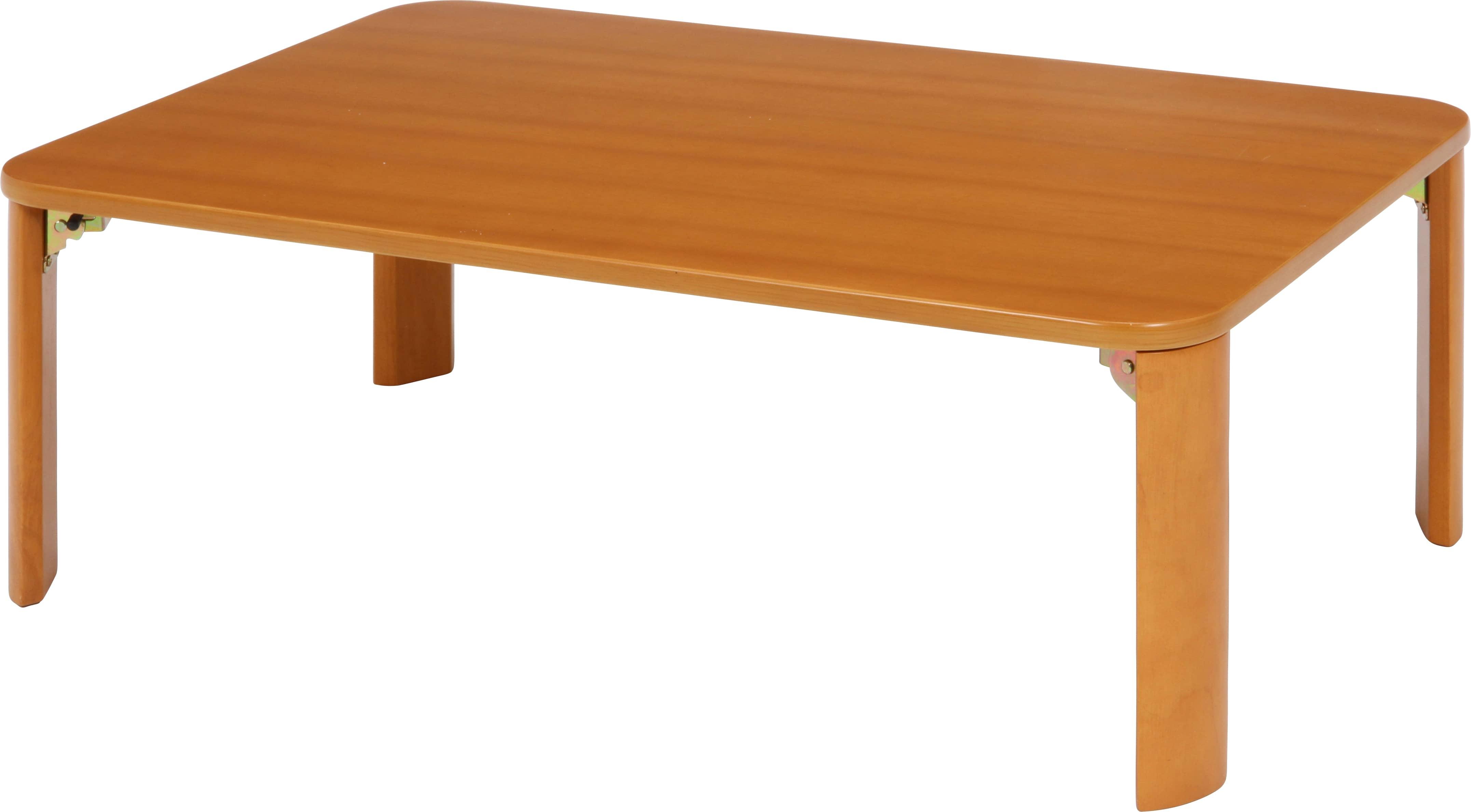 折脚ローテーブル9060NAナチュラル