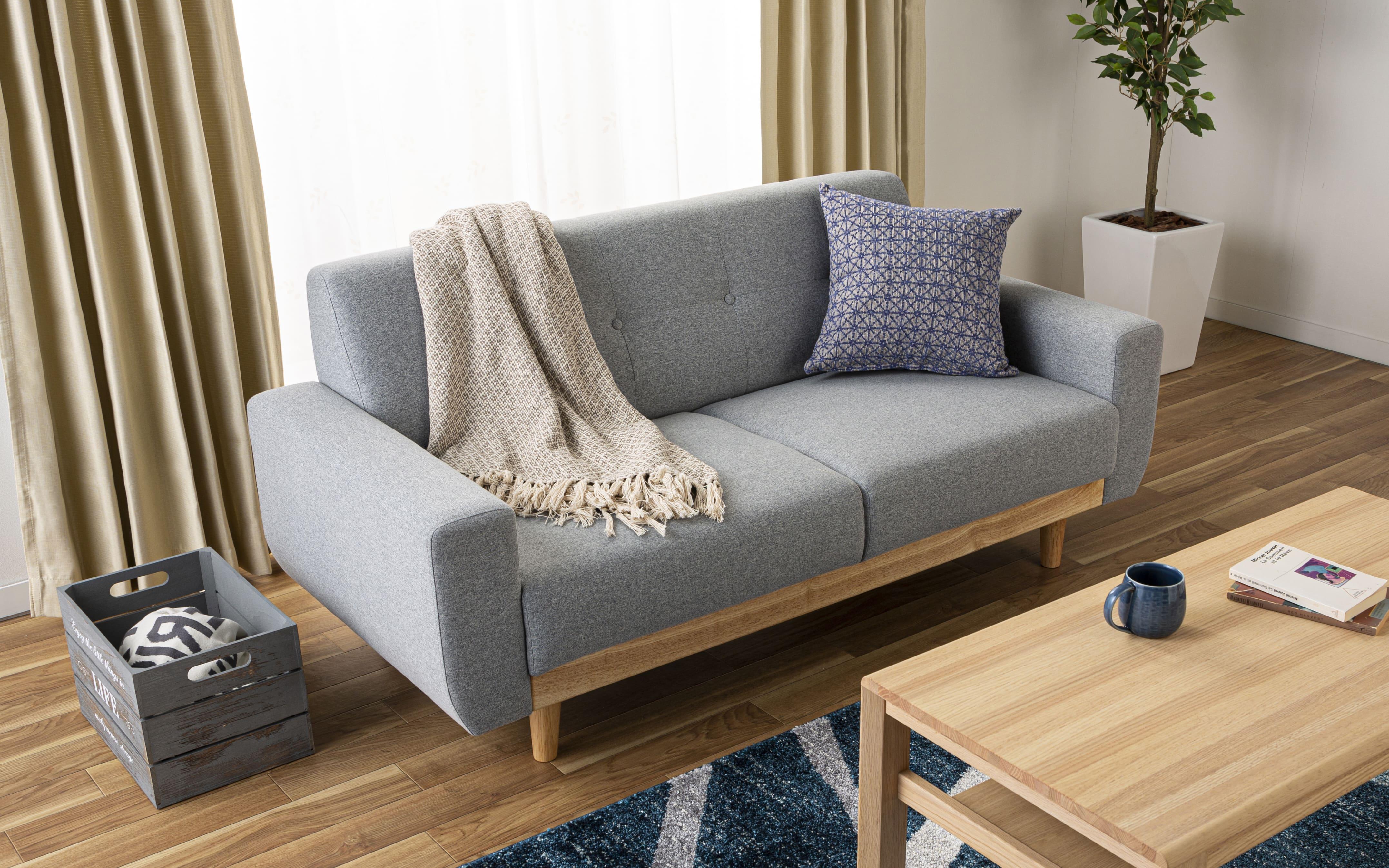 :北欧風ソファでオシャレに彩ろう♪