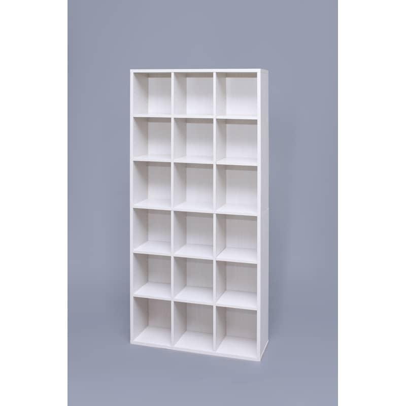 ブックシェルフ1890WH BKS−1890オフホワイト:ブックシェルフ
