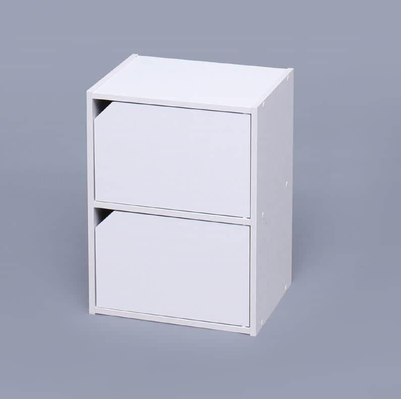 モジュールボックス扉付WH MDB−2D オフホワイト