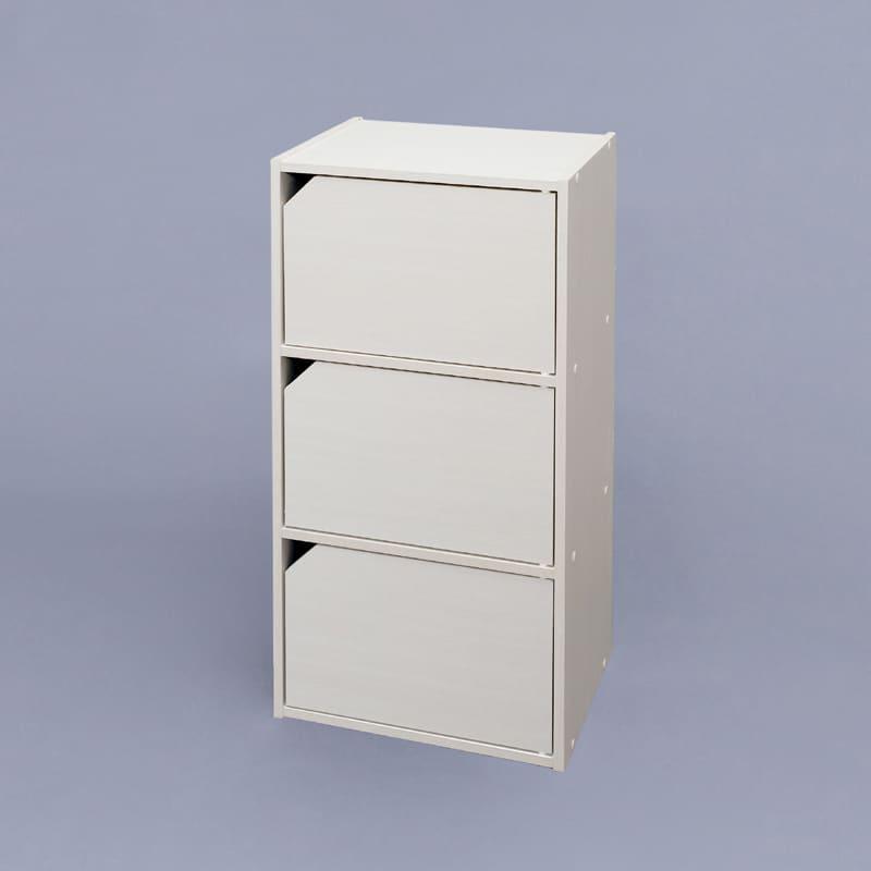 モジュールボックス扉付WH MDB−3D オフホワイト