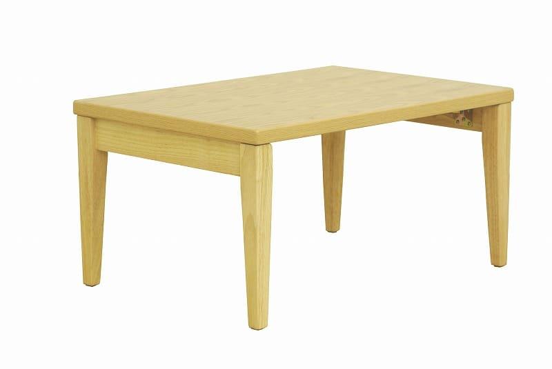 折れ脚テーブル ナチュラルモダン NT−7550NA