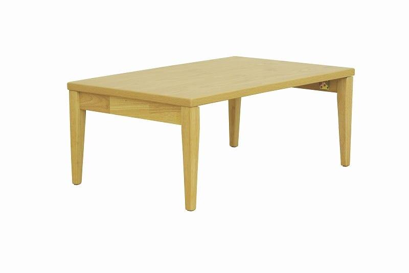 折れ脚テーブル ナチュラルモダン NT−9060NA:折れ脚テーブル