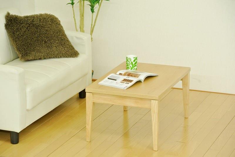 折れ脚テーブル ナチュラルモダン NT−9060NA