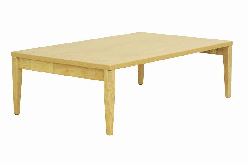 折れ脚テーブル ナチュラルモダン NT−1275NA:折れ脚テーブル