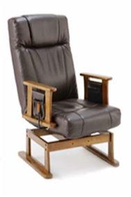 回転高座椅子 ターロチェア BAN0182BRブラウン