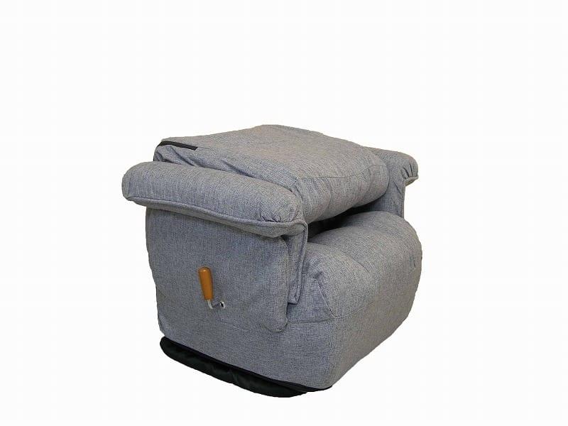 ガス圧式肘付回転高座椅子 ロゼア BR