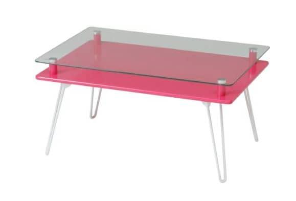 ディスプレイテーブル クラリス PK ピンク