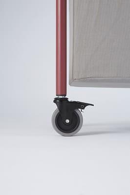 アメリカンバスケットワゴン2段 W−AL02 VRО ローズ&グレー
