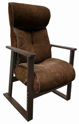 TVが見やすいガス式高座椅子 GLH−ハンナ DBRダークブラウン