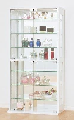 コレクションケース(ホワイト):コレクションケース ※小物類はイメージです。