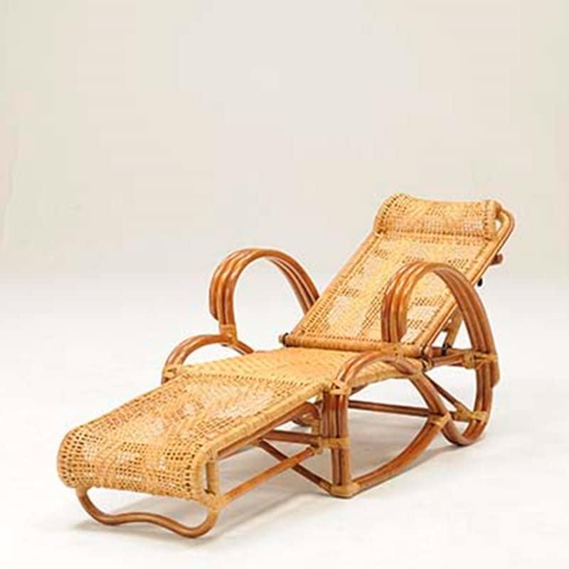 ラタン三つ折り寝座椅子 PRE−253PS