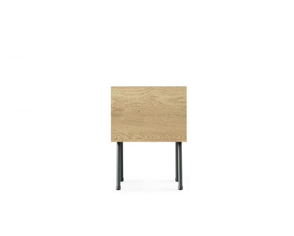 アイアンウッド サイドテーブルIWST−300:「ワンルームでもお部屋が広く使える」をコンセプト