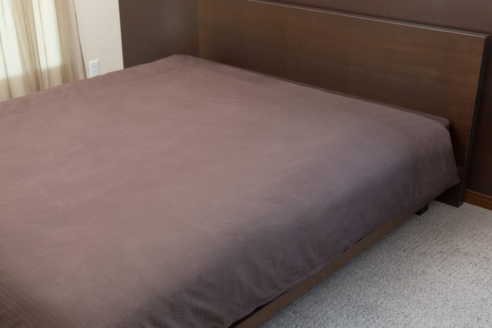 クレモナ(ビターブラウン)掛布団カバーQ:綿100%で安心