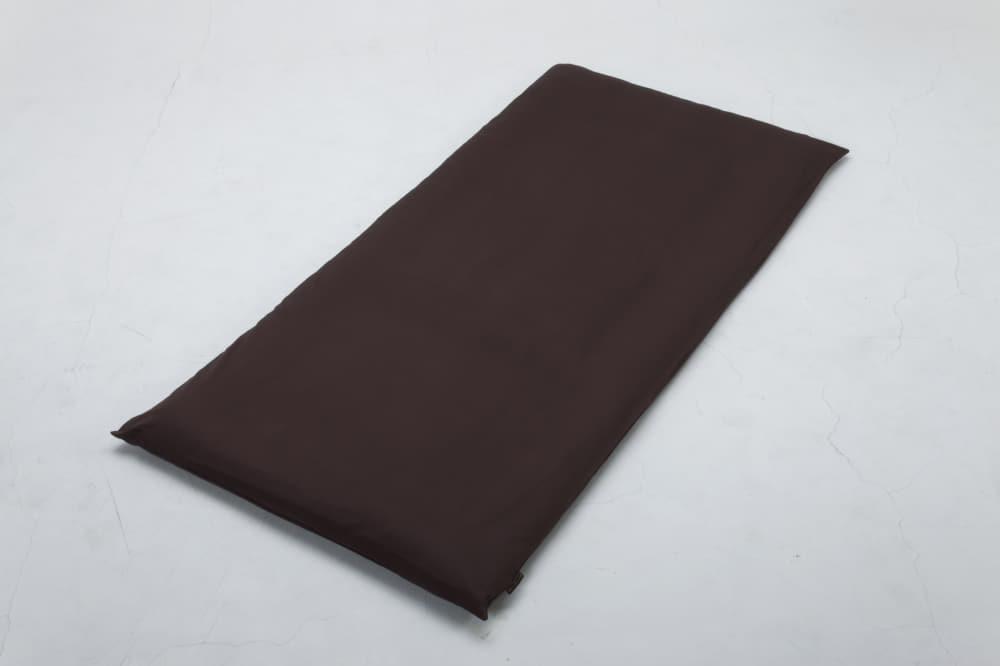 クレモナ(ビターブラウン)敷布団カバーS:綿100%で安心