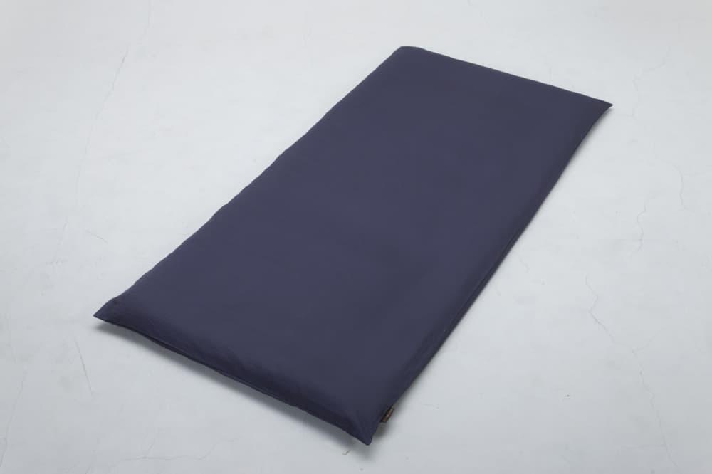 クレモナ(スレートブルー)敷布団カバーD:綿100%で安心