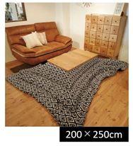 こたつ薄掛布団 ハミナ 200×250・長方形(NV)