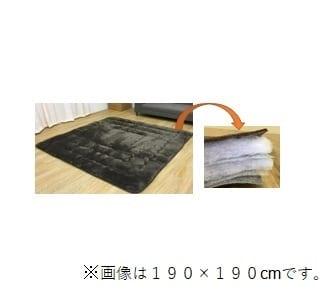 6層こたつ厚敷 フラン 190×190 BR:6層構造こたつ厚敷き
