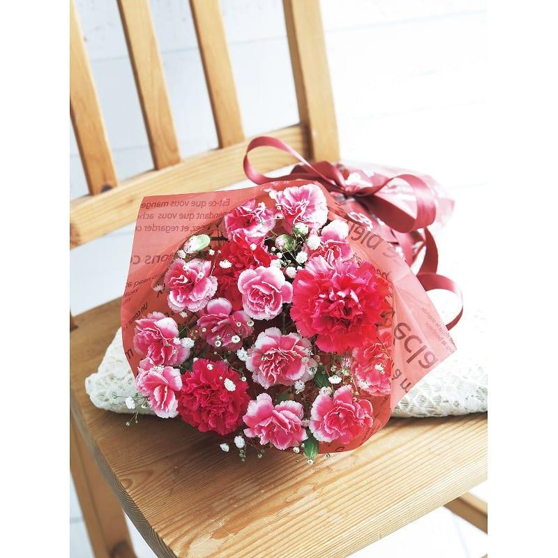 【母の日フラワーギフト 送料込み】花束「ロゼシャンパーニュ」