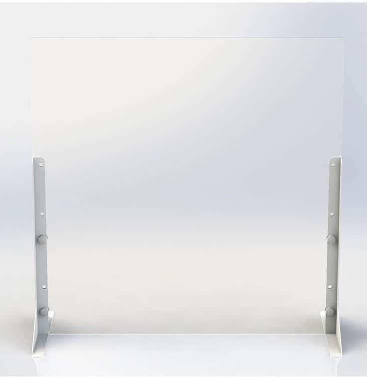 アクリルパーティション 600×600サイズPTS−AC6060:簡単に設置できるパーティションシリーズ