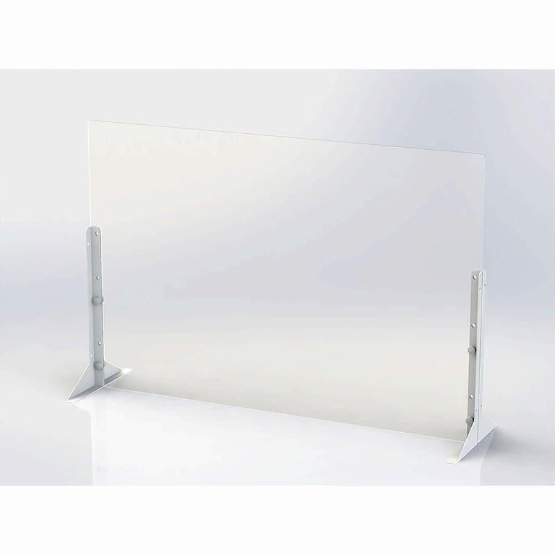 アクリルパーティション 900×600サイズPTS−AC9060:簡単に設置できるパーティションシリーズ