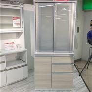 【草加店 展示特価品】 ダイニングボード メビウス900(食器棚)