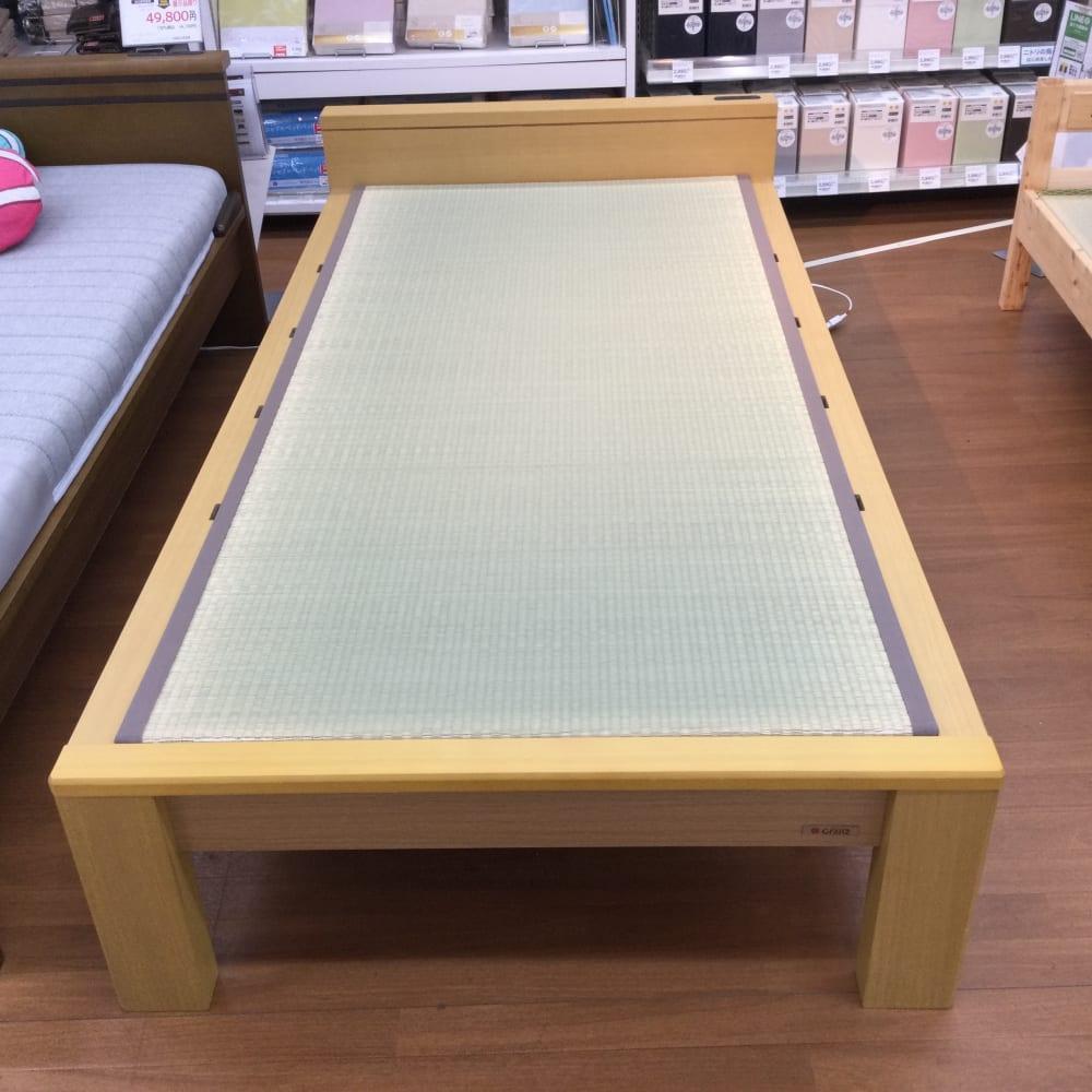 【草加店 展示特価品】  シングル 畳ベッド スミカ フラット