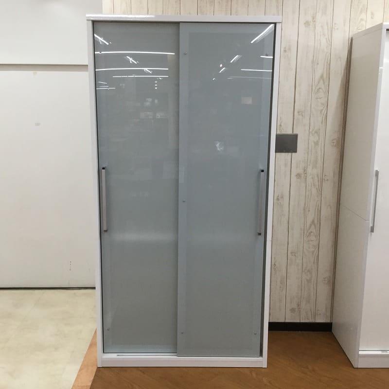 【横浜店 展示特価品】 ダイニングボード ホワイティ1000大引戸
