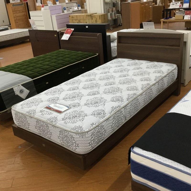 【横浜店 展示特価品】 シングルベッド シエラスリムステーション/5.5インチ AB16S12