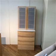 【足利店 展示特価品】ダイニングボード 楓の森66食器棚