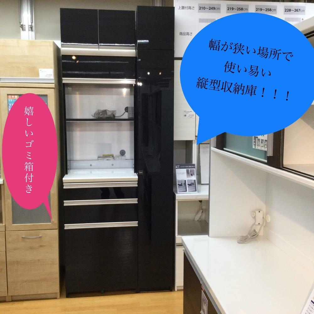 【越谷店 展示特価品】ダイニングボード(家電収納) QG/SC