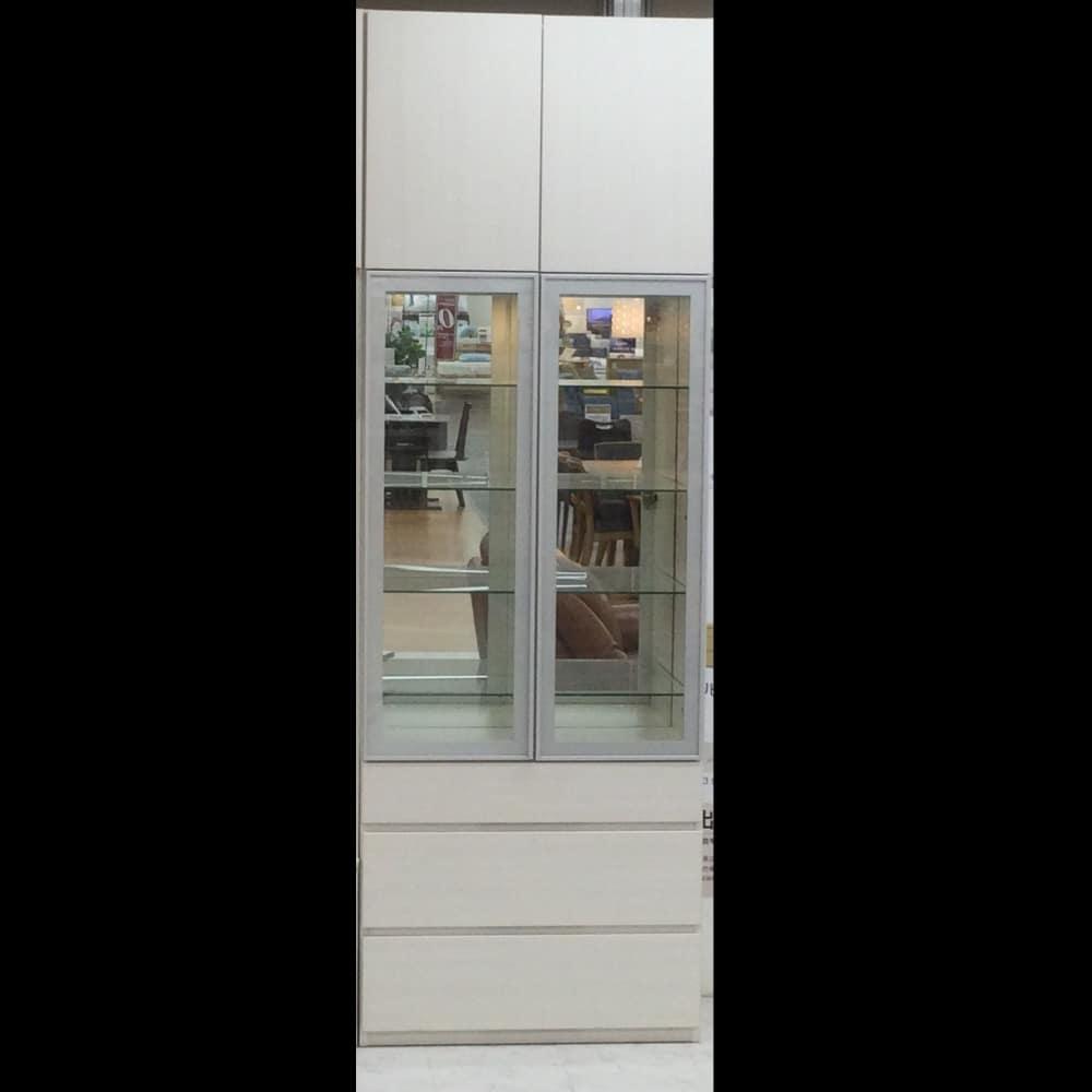 【越谷店 展示特価品】壁面収納(右側面割れ有) シマウ80