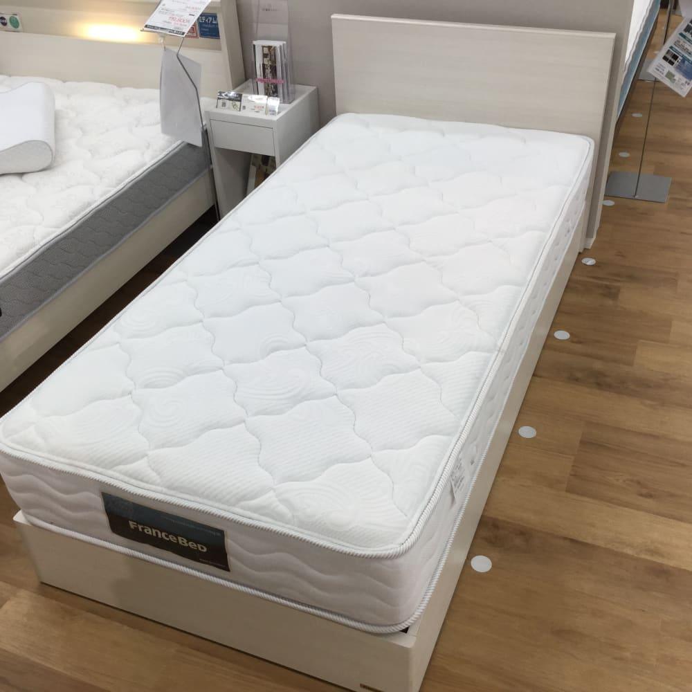 【新座店 展示特価品】 シングルベッド 【フランスベッド】チョイスミーF225引無/BO-030