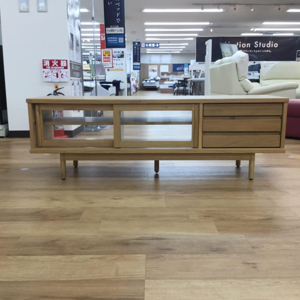 【新座店 展示特価品】ローボード ユニフ1400+レッグ