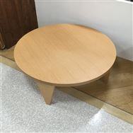 【ホームズ相模原店 展示特価品】 折れ脚テーブル round105