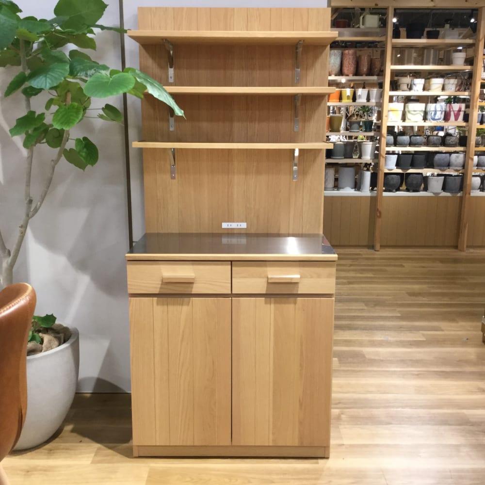 【ホームズ新山下店 展示特価品】 食器棚 カフェ
