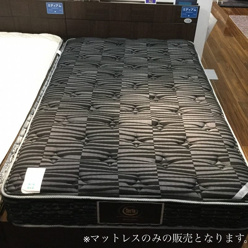 【葛西店 展示特価品】 セミダブルマットレス 【サータ】サータペディックメモリー5.8DX