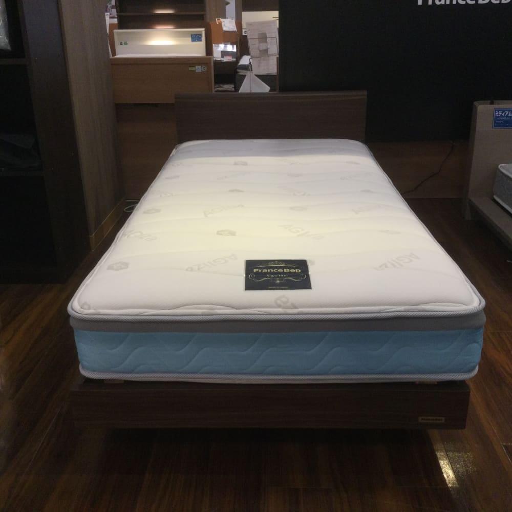 【葛西店 展示特価品】 シングルベッド 【フランスベッド】AGブレスク ソフト/OP70-03