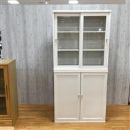 【ホームズ川越店 展示特価品】 書棚 オファー90引き戸+開き戸