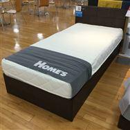 【ホームズ川越店 展示特価品】 シングルベッド ONE  TWO  SLEEP002 スタンダード/ファクトリアル2290BOX